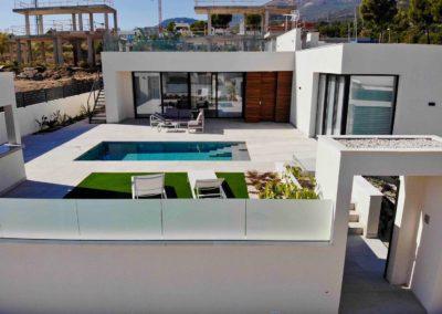 chalet con piscina costa blanca
