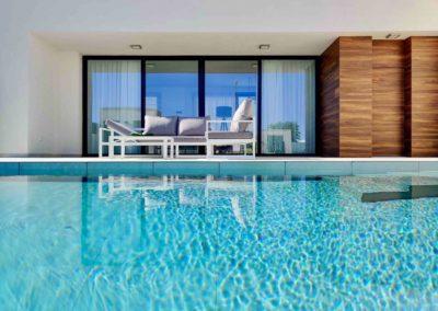 vista desde piscina K'IIN